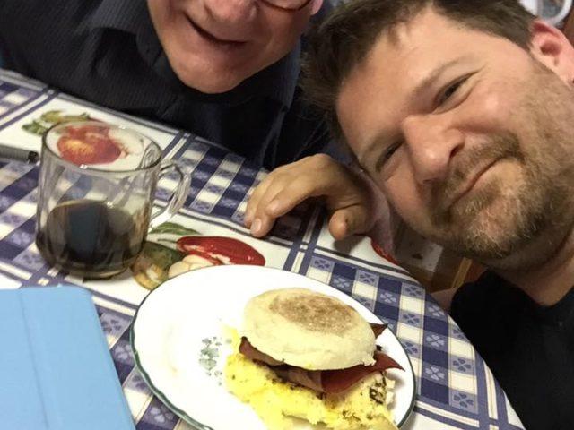 Breakfast with Jeremy